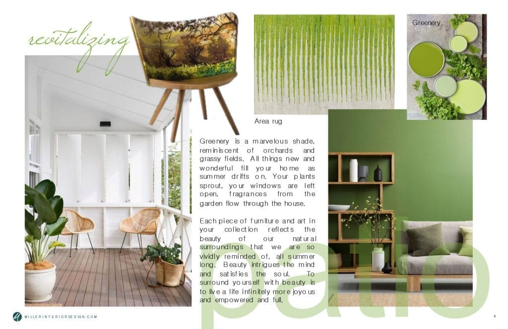 Bringing the outdoors in creates a revitalizing space