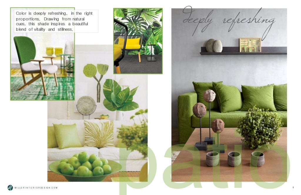 Color - Greenery is deeply refreshing