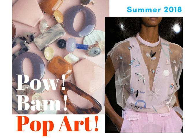 Summer 2018:  Pow!  Bam!  Pop Art!