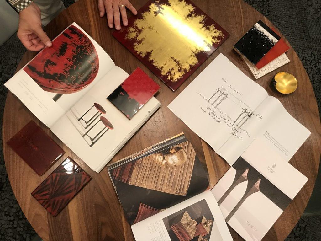Miller Interior Design Sourcing Alexander Lamont Sketch