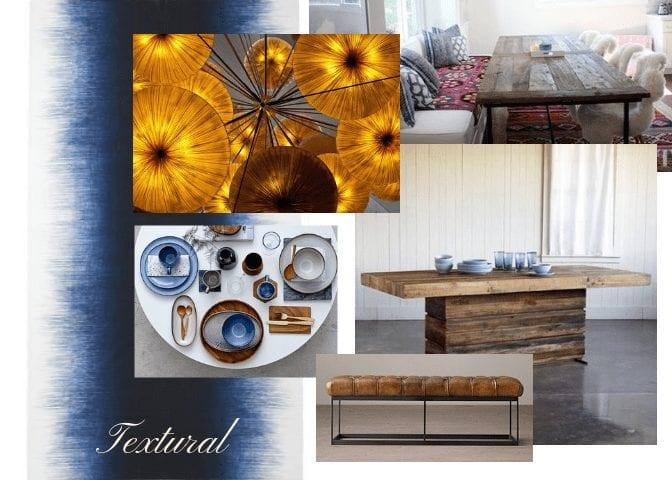 interior design trends 2018, textural