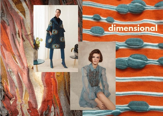 interior design trends 2018 dimensional materials