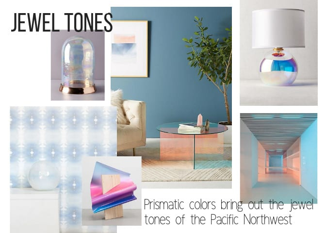 Prismatic colors bring out the jewel tones of the Pacific Northwest