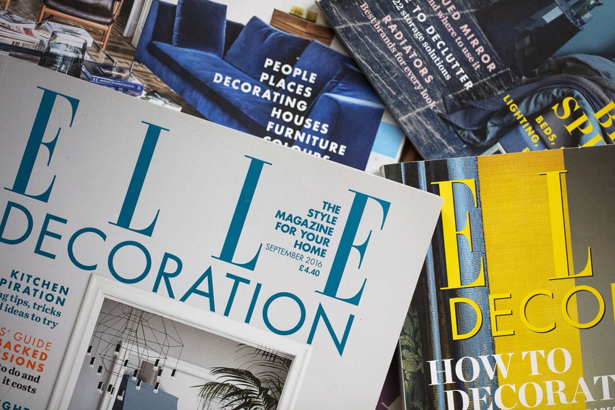 Keith Miller to be featured in ELLE Decor