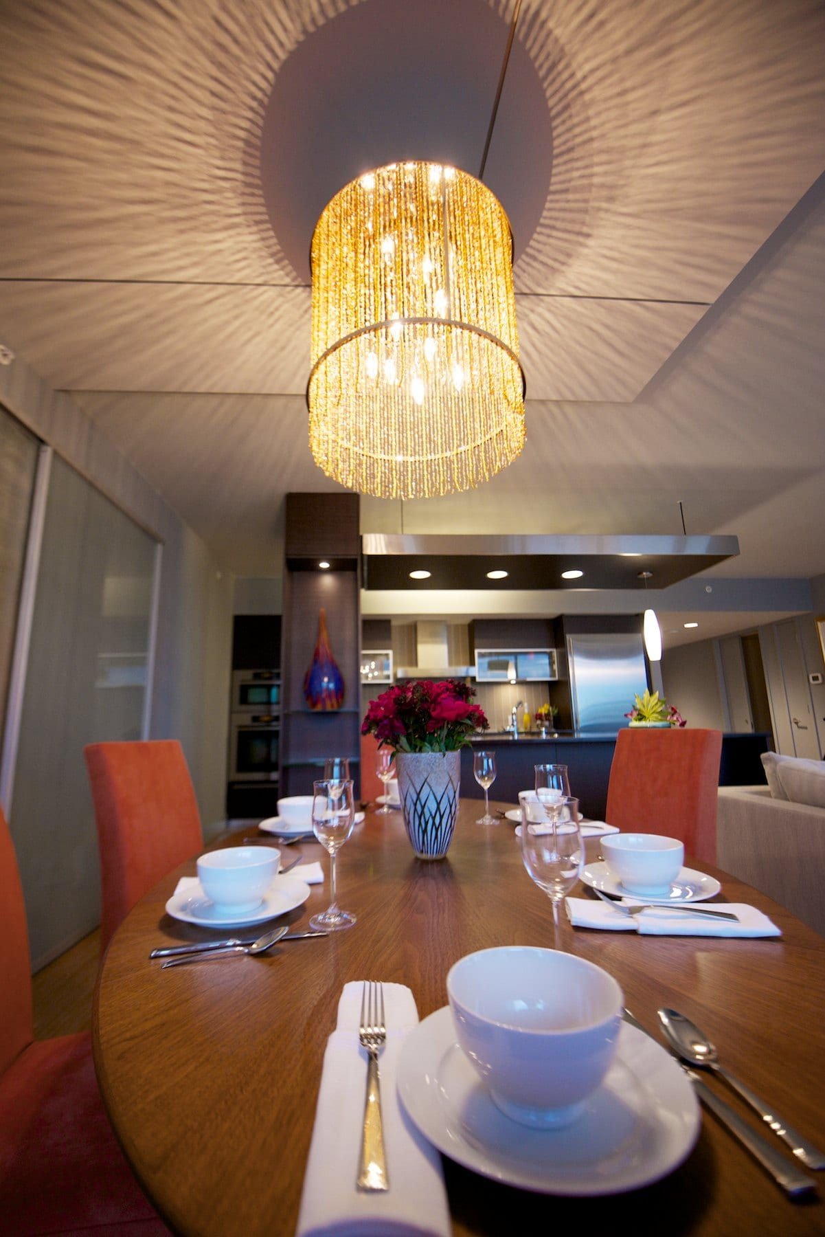 Miller Interior Design - An Evening With The Gorbachevs - dinning room