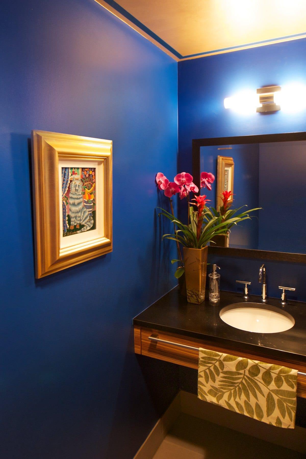 Miller Interior Design - An Evening With The Gorbachevs -bathroom