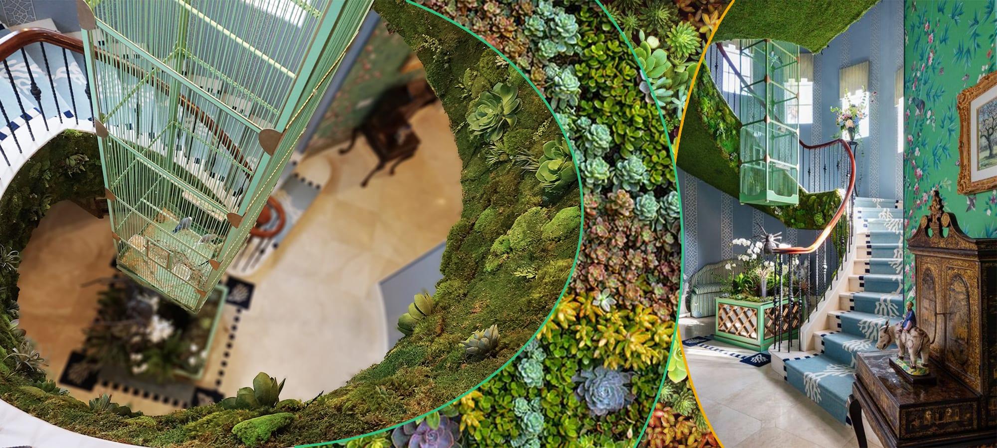 Living Wall Moss Interior Design